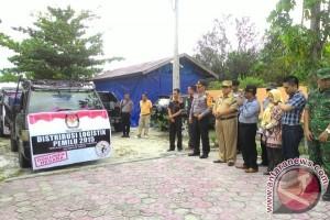 KPU Sukamara Distribusikan Surat Suara Sampai PPS Saja