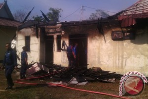 Kantor Dinas Pertambangan Kotawaringin Timur Terbakar