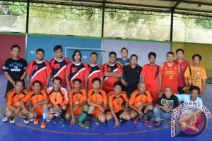 PWI Barut dan Barsel Adakan Latih Tanding Futsal