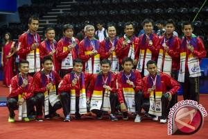 PBSI Targetkan Tim Thomas Merah-Putih Juara Grup