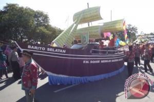 Kafilah Barsel Ikuti Pawai Taaruf MTQ Kalteng