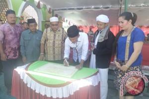Bupati Kobar Resmikan Masjid Al Firdaus