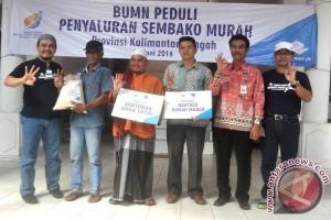 Pelindo Salurkan 1.000 Paket Sembako Murah di Barito Utara