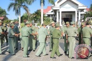 Hari Pertama ASN Lamandau Apel Gabungan Dipimpin Wakil Bupati