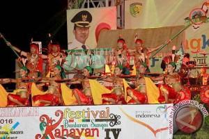 Malam Pembukaan Palangka Fair 2017 Dipadati Pengunjung