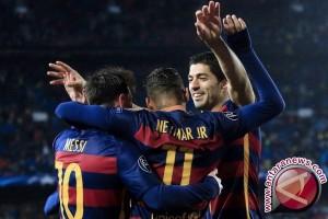 Messi dan Suarez di Puncak Pencetak Gol Liga Spanyol