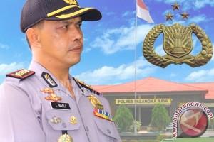 Kapolres Akan Tindak Tegas Anggota Ditangkap BNNP Kalteng