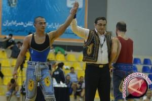 Wow! Pegulat Indonesia Juarai Kejuaraan Gulat Tradisional Iran di TAFISA