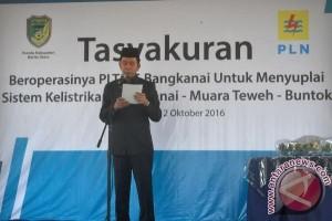 Alhamdulilah! PLTMG Bangkanai Mulai Beroperasi, Masyarakat Bisa Menikmati Listrik