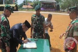 Program TMMD Di Sukamara Resmi Ditutup