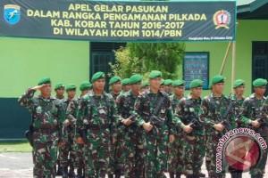 Kodim Pangkalan Bun Siapkan Pasukan Jaga Pilkada Kondusif