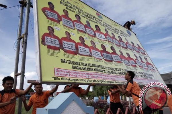 Parah..!! Peredaran Zenith, Kasus Tertinggi Polres Seruyan Pada 2016
