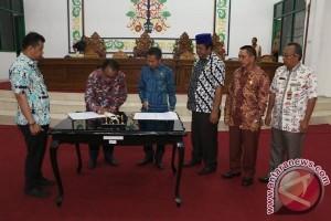 APBD Perubahan Kabupaten Sukamara Disahkan