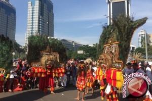 Begini Kemeriahan Parade Bhineka Tunggal Ika (Video)