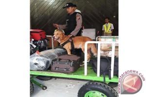 BNNP Kalteng Awasi Peredaran Narkoba Di Jalur Bandara