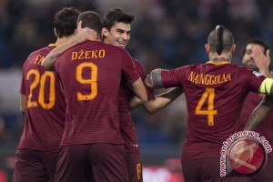 AS Roma Terus Buntuti Juventus Usai Tundukkan Chievo