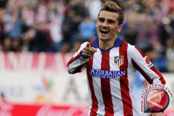 Atletico Madrid Perpanjang Kontrak Griezmann