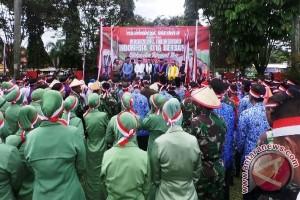 Masyarakat Kotawaringin Timur Berikrar Jaga Persatuan Dan Kesatuan