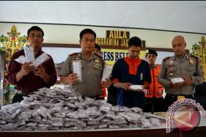 Polres Barito Utara Berhasil Tangkap Bandar Zenith 25.400 Butir
