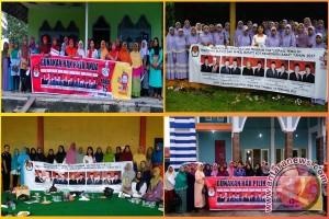 Sosialisasikan Pilkada, KPU Kobar Sasar Ibu-Ibu Pengajian