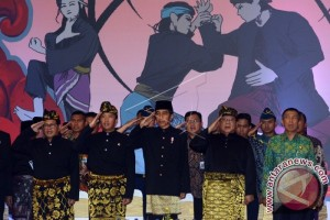 "Prabowo Kukuhkan Presiden Jokowi Sebagai ""Pendekar Utama"""