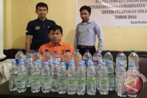 Polres Seruyan Tangkap Penjual Minuman Arak