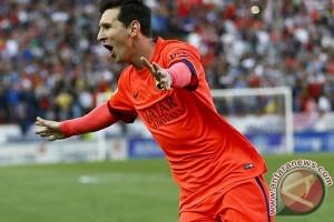 Messi Pimpin Barcelona Hancurkan Juventus