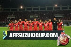 Sejumlah Pemain Indonesia Terlihat Menangis Usai Gagal Juara AFF