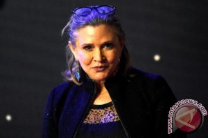 "Princess Leia ""Star Wars"" Tutup Usia"