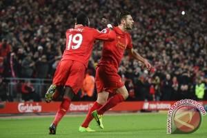Bungkam Stoke City, Liverpool Kembali Bayangi Chelsea