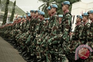 Presiden Jokowi Kunjungi Markas Komando Paspampres