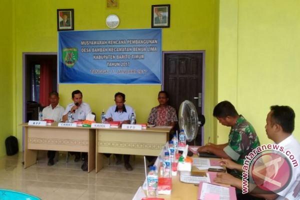Camat Berharap Musrenbangdes Ciptakan Program Pembangunan Desa yang Optimal