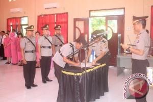 Polres Sukamara Masih Kurang SDM, Sejumlah Perwira Geser Jabatan