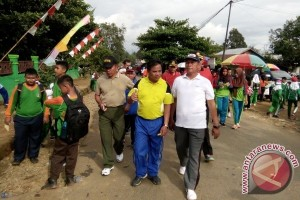 Jalan Santai Kerukunan di Bartim Untuk Tingkatkan Persatuan