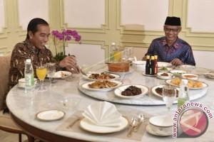 Presiden Jokowi Makan Siang Bersama Ketua PP Muhammadiyah