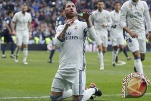 Sergio Ramos Borong Gol Bawa Real Madrid Menang Atas Malaga