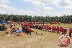 PT Sukajadi Sawit Mekar Latih Ratusan Warga Tanggulangi Kebakaran Hutan dan Lahan