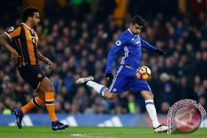 Chelsea Taklukkan Hull City Kian Mantap di Puncak