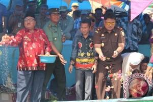 Syukuran Laut Kearifan Lokal Yang Perlu Dipertahankan, Kata Bupati Sukamara di Jelai