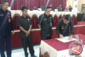 Raperda Pilkades Barito Timur Diteken
