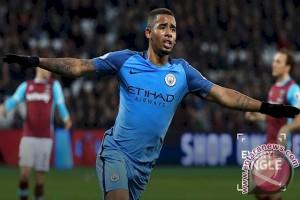 Kalahkan WBA, Manchester City Amankan Zona Liga Champion