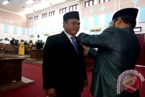 PAW, Agus Peternady Dilantik Jadi Anggota DPRD Pulpis