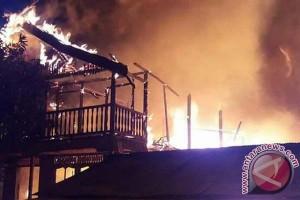 Waduh! 5 Bangunan di Kotawaringin Timur Hangus Terbakar
