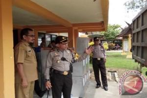 Polres Barsel Kerahkan Setengah Kekuatan Amankan Pleno KPU