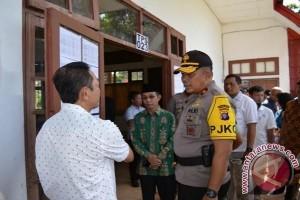 Kapolda Kalteng Pantau Pelaksanaan Pilkada Barito Selatan