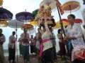Upacara Melasti Jelang Nyepi di Bali