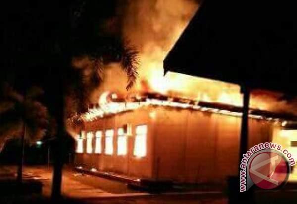 Kebakaran Gedung Bappeda Sukamara Sudah Padam, Bagaimana Dokumen yang Tersimpan?