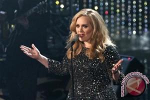 Wow! Gaun Adele Dengan 10.000 Permata Kristal