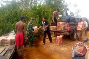 Pemkab Seruyan Salurkan Bantuan Korban Banjir