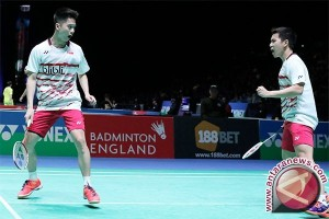 Presiden Jokowi : Indonesia bangga! Ganda putra Juarai All England